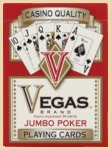 Карты Vegas Jumbo Index (красные)