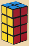 Кубик Рубика Башня 2 на 2 на 4 (Rubik's Tower)